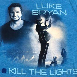 Blue Luke Brian Kill the Lights T-shirt (M)